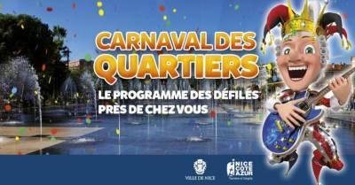 Carnaval en los barrios de Niza