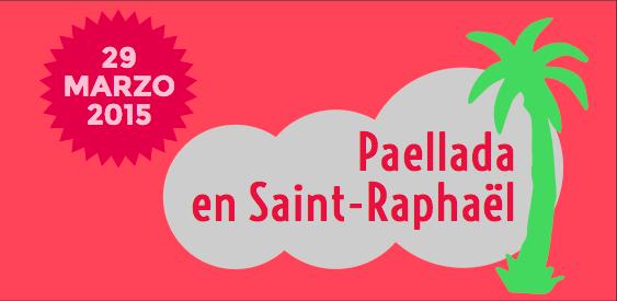 Paellada en Saint-Raphael