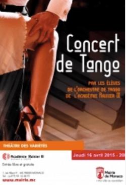 El Teatro de las Variedades de Mónaco acoge un concierto gratuito de tango