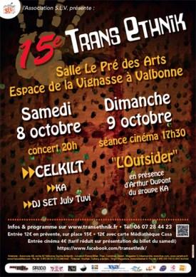 Festival Trans Ethnik Valbonne 2016