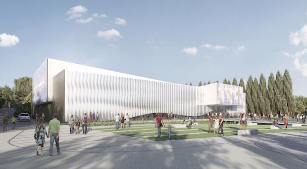 Exterior centro cultural Mougins