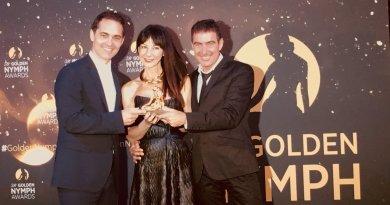 La Casa de Papel, Ninfa de Oro de la mejor serie dramática en el Festival de Televisión
