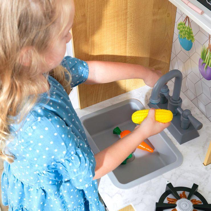 Kidkraft Fresh Harvest Play Kitchen Costco Novocom Top