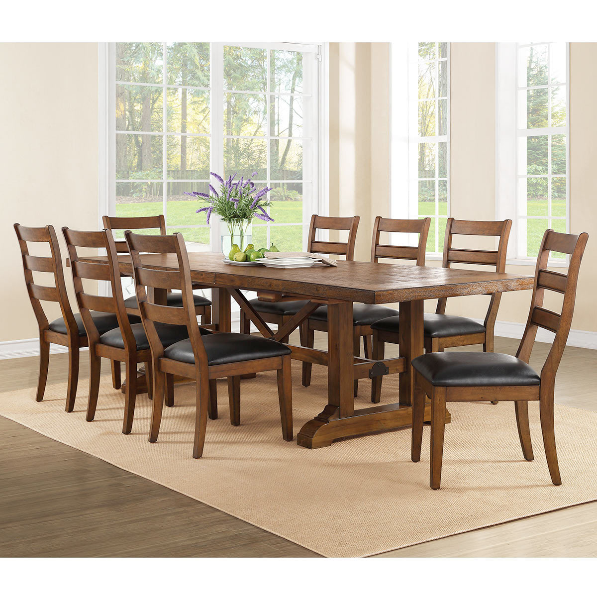 Dining Table 8 Chairs Bayside Furnishings Washington Extending Dining Room Table 8 Chairs Costco Uk