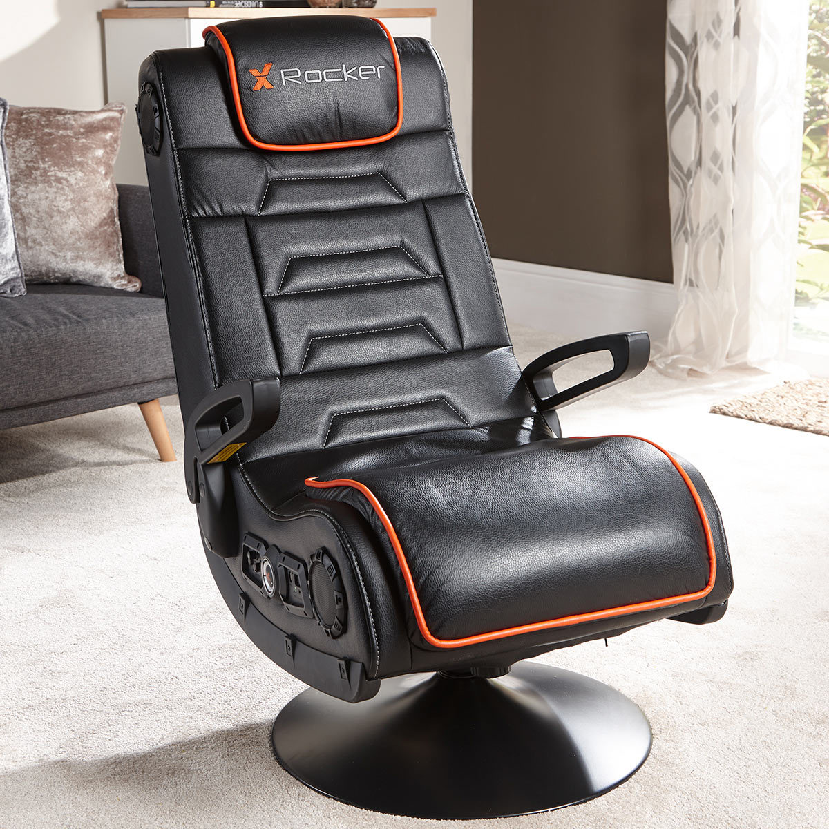 Game Chair With Speakers Details About X Rocker Gaming Chair With Built In Bluetooth Speakers Xbox Ps4 Nintendo Iphone
