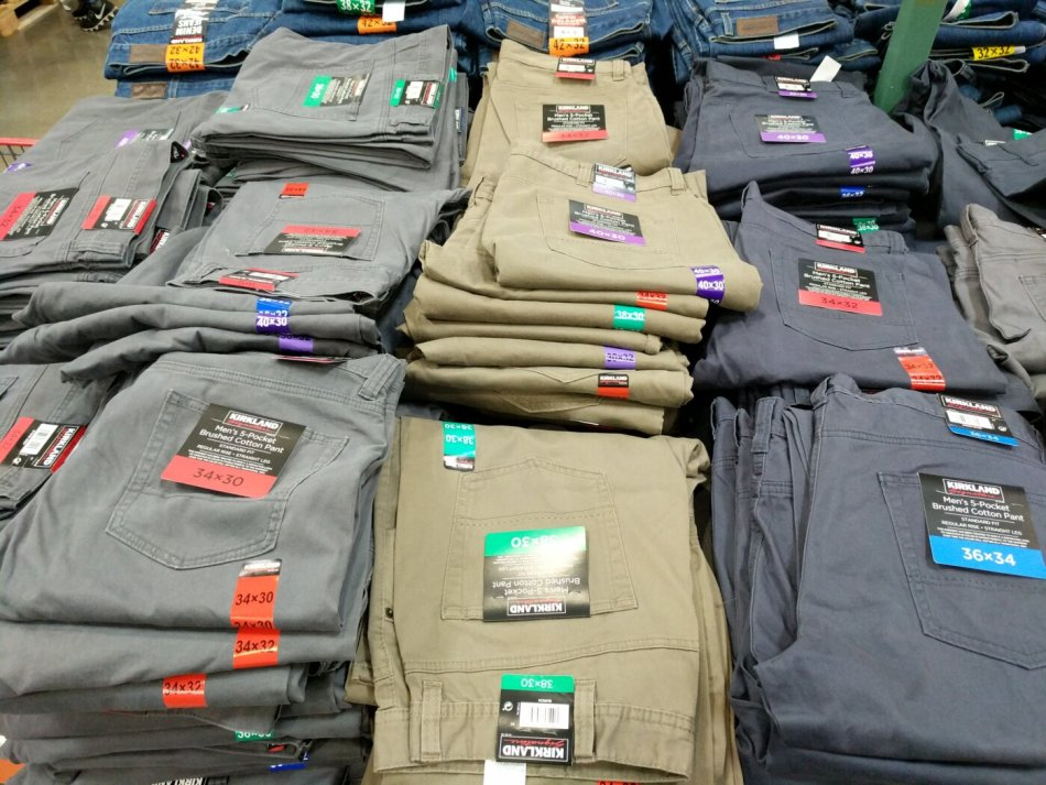 Kirkland Signature Men S 5 Pocket Pant Costco97 Com