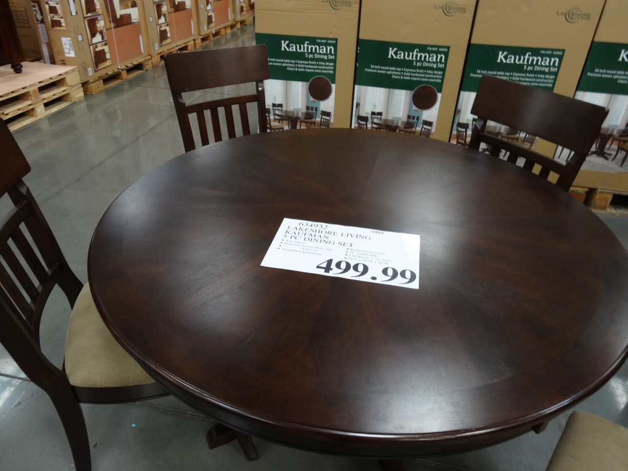 Costco Tables And Chairs Dining Table Counter Height Dining Table Costco