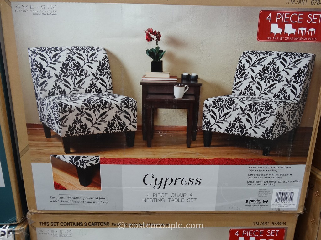 Costco Tables And Chairs Ave Six Cypress Chair And Table Set