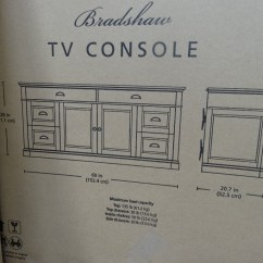 Interchangeable Sectional Sofa Bed With Storage And Company Bradshaw 60″ Tv Console