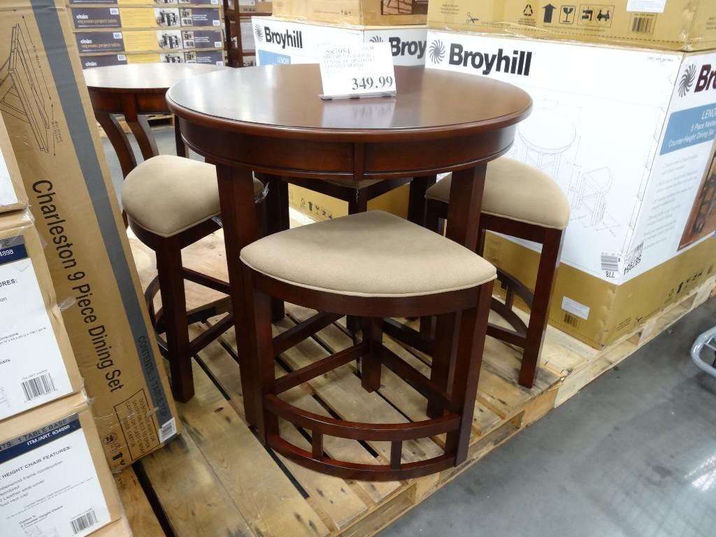 Broyhill Lenoir 5Piece Counter Height Dining Set
