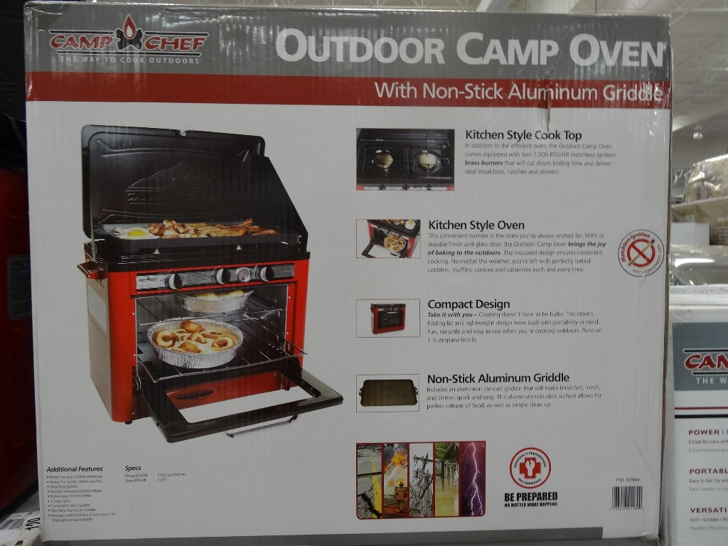 Camp Chef Outdoor Camp Oven  Discount Alert ends 071413