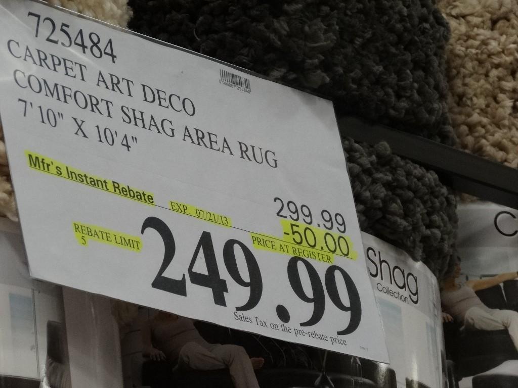Comfort Shag Area Rug