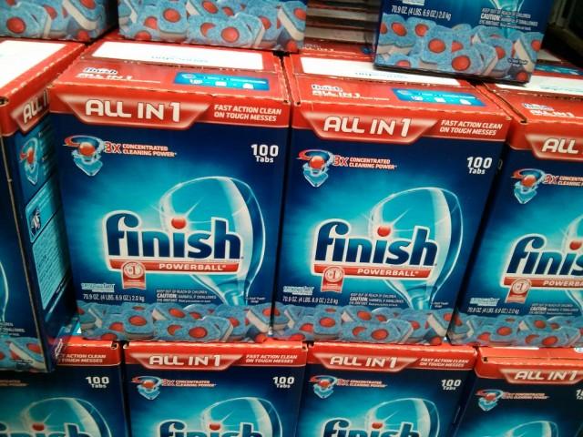 Kết thúc Powerball Máy rửa chén Tabs Costco