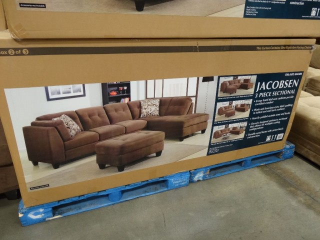 Marks and Cohen Jacobsen 3Piece Sectional