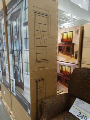 tall kitchen pantry can lights in pulaski kensington display cabinet