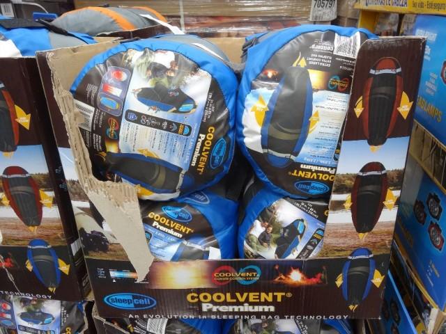 SleepCell Coolvent Premium Sleeping Bag