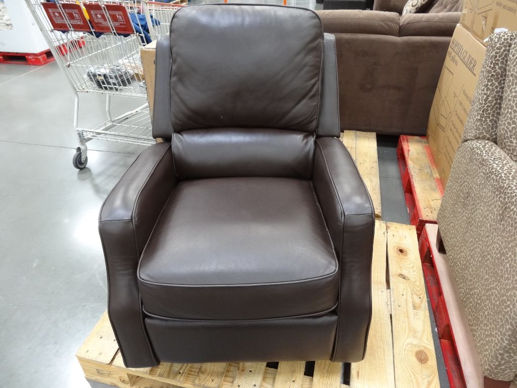 Costco Recliner Chair Synergy Caroline Leather Recliner Swivel Glider