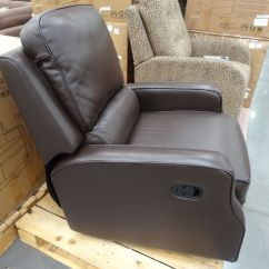 Costco Swivel Chair Design Project Synergy Caroline Leather Recliner Glider