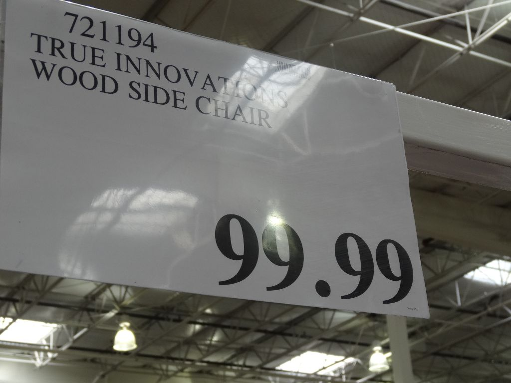 true innovations chair costco rail tile lowes wood side