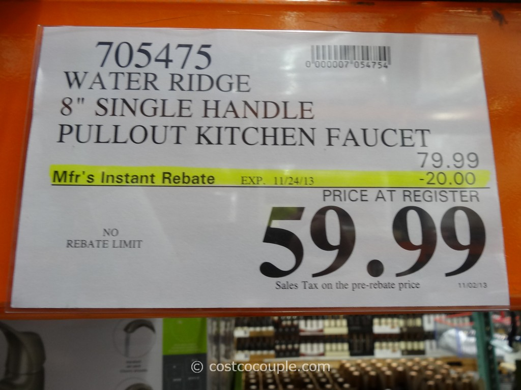 kitchen faucets at costco quartz countertops colors for kitchens water ridge pull out faucet