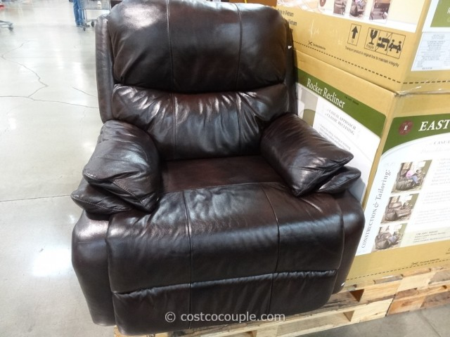 accent chair with arms movie theater chairs for home woodworth easton leather rocker recliner