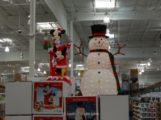 60Inch Lighted Snowman