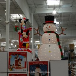 Costco Kitchen Fisher Price Loving Family 60-inch Lighted Snowman