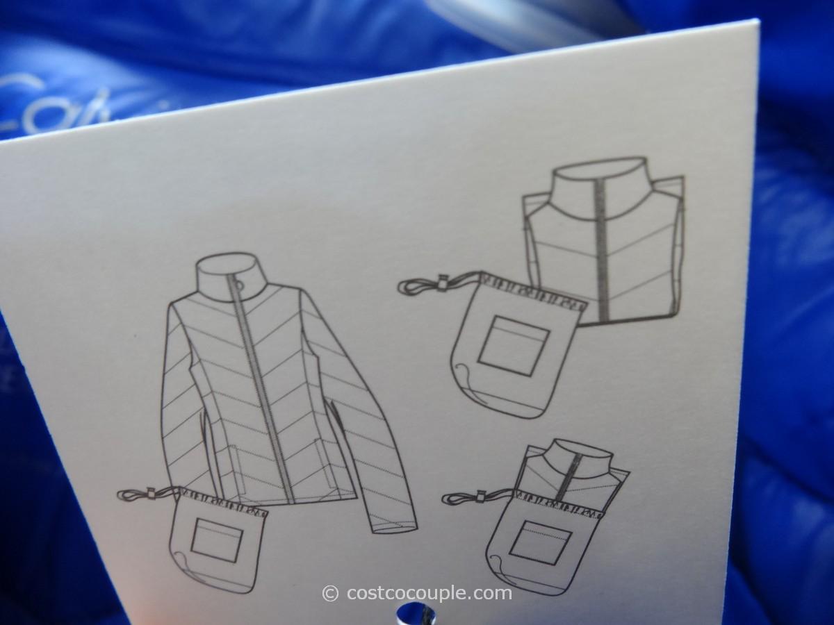 Calvin Klein Ladies Packable Down Jacket