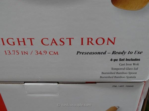 Joyce Chen Lightweight Cast Iron Wok