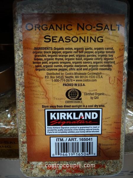 Kirkland Signature Organic NoSalt Seasoning