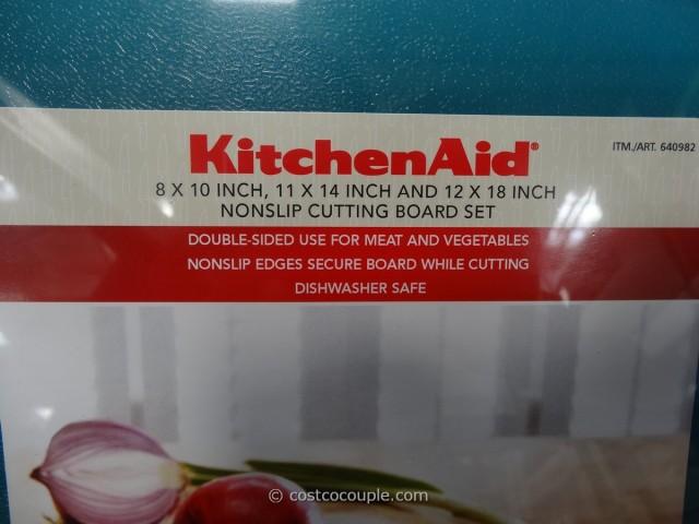 costco kitchen aid rubbermaid trash cans kitchenaid cutting boards