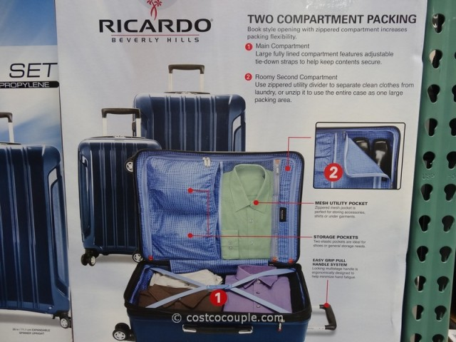 Ricardo 3Piece Lightweight Travel Set