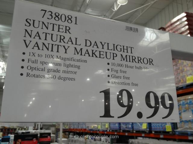 Sunter Natural Daylight Vanity Mirror