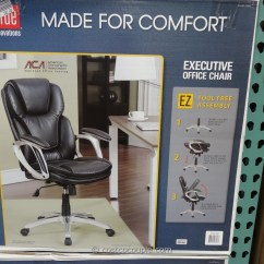 True Innovations Office Chair White Rocking Chairs For Front Porch Executive Costco 6