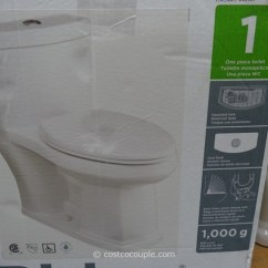 Kitchen Aid Costco Hobart Equipment Water Ridge 1-piece Elongated Toilet