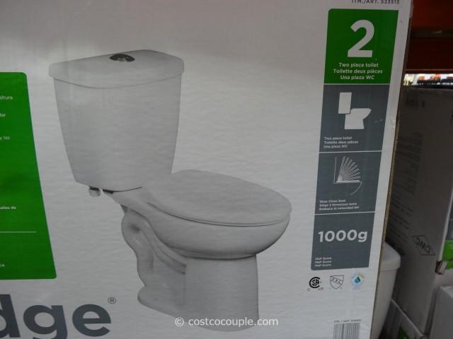 Water Ridge Dual Flush Toilet