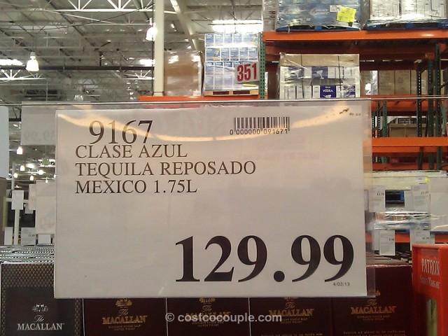clase azul tequila reposada