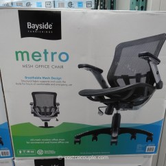 Desk Chair Costco Round Table And Sets Bayside Metro Mesh Office