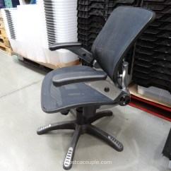 Costco Computer Chairs Makeup Artist Chair Portable Bayside Metro Mesh Office