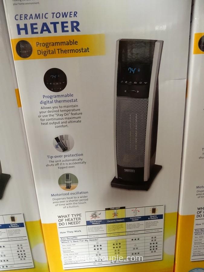 Bionaire Digital Ceramic Tower Heater