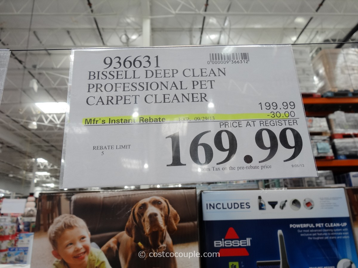 Bissell Deep Clean Professional Pet Carpet Cleaner