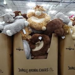 Stuffed Animal Chair Fabric Swivel Australia Jungle Chairs