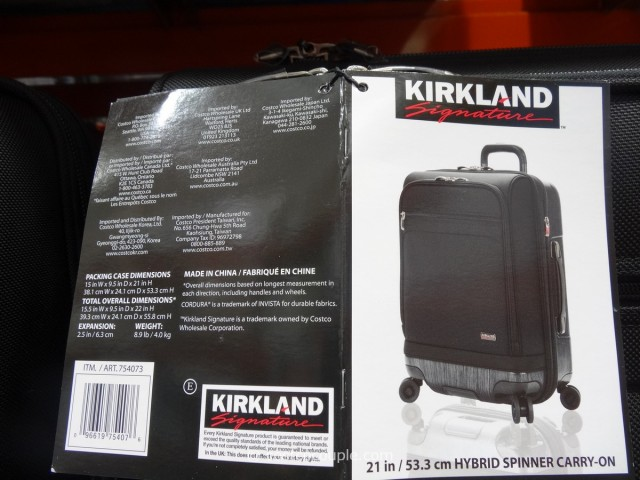 Kirkland Signature Hybrid Carry On Spinner