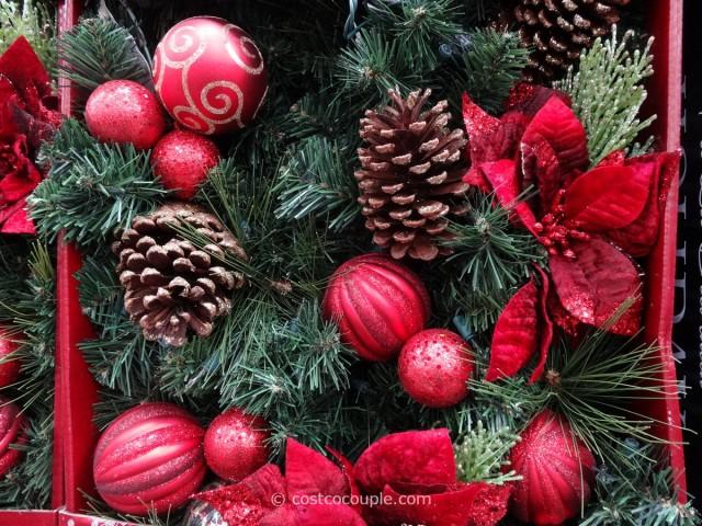 Kirkland Signature Prelit Decorated Holiday Garland