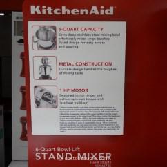 Kitchen Aid Coupons Blue Wall Clocks Kitchenaid 6 Qt Stand Mixer