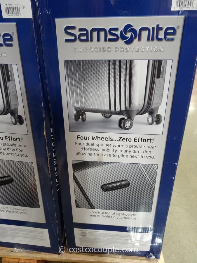 Samsonite 2Piece Hardside Spinner Set