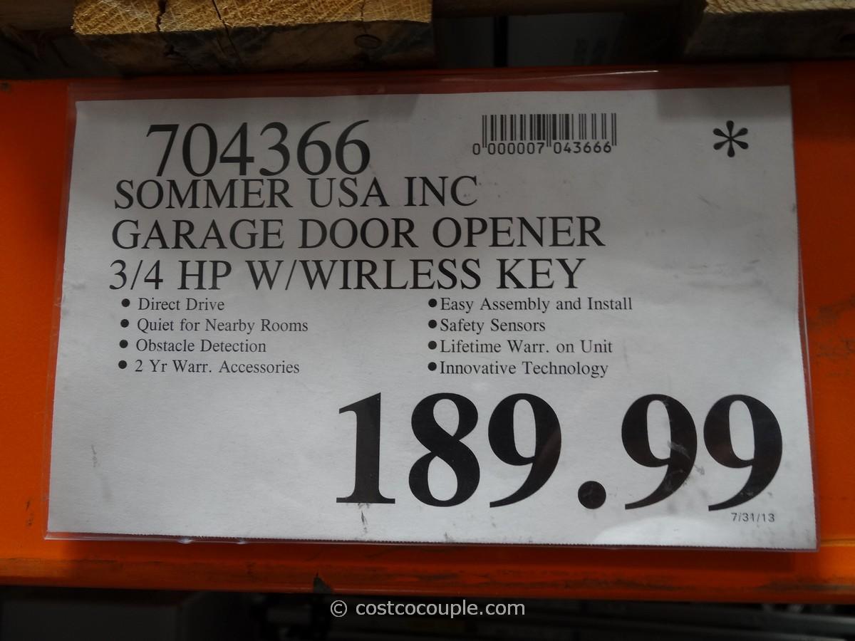 Sommer Direct Drive Garage Door Opener