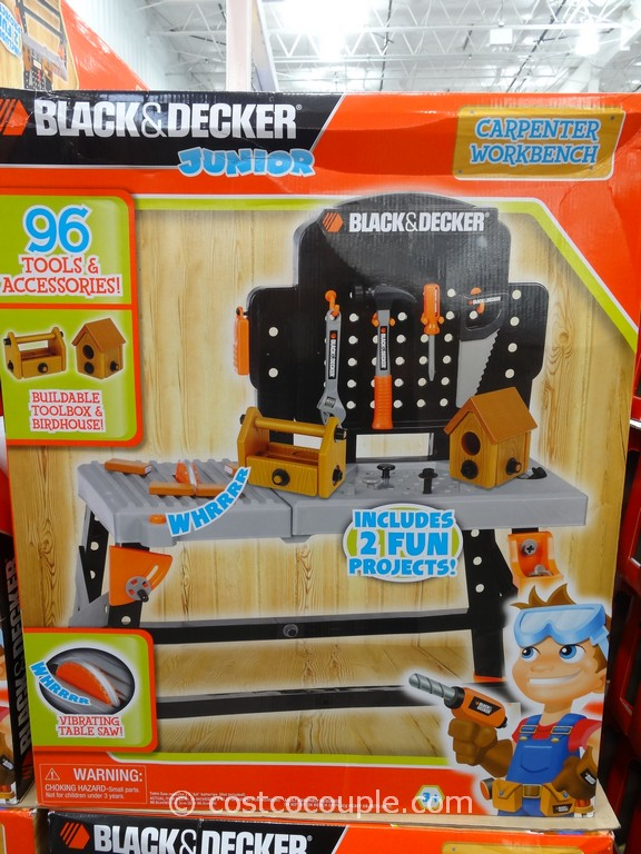 Black And Decker Toy Tool Bench