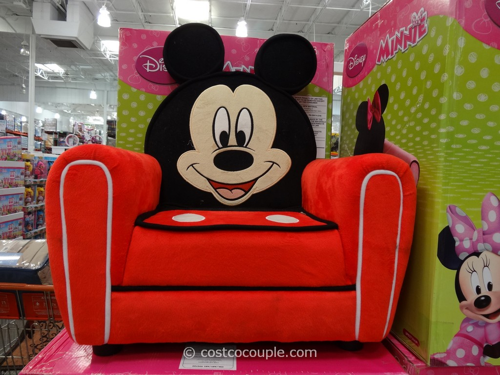 minnie mouse upholstered chair big comfy disney mickey or