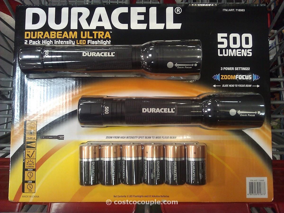duracell led tactical flashlight